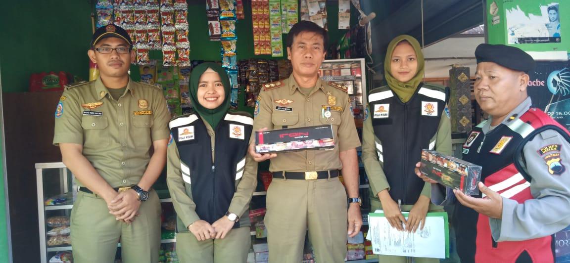 Pengumpulan Rokok Non Cukai / Cukai Ilegal Desa Gempol Denok Kecamatan Dempet
